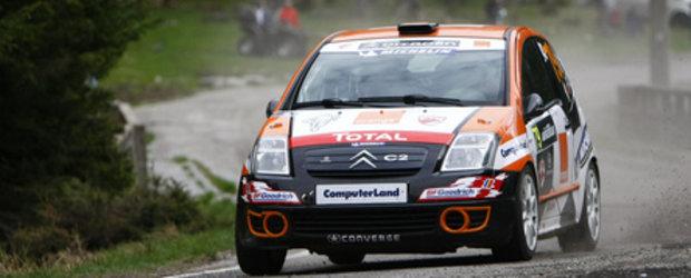 Alex Filip si Bogdan Iancu, podium la Raliul Argesului