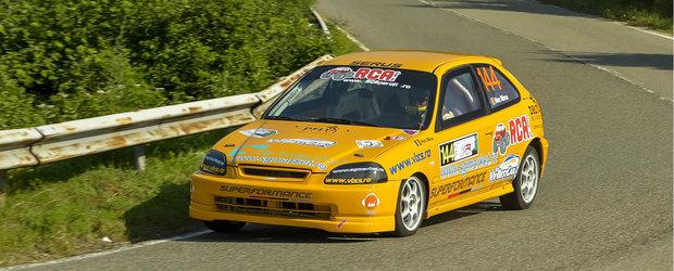 Alex Mirea si recordul realizat la Resita la volanul unei masini Honda