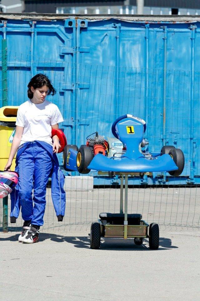 Alexandra Marinescu se retrage din Campionatul National de Karting
