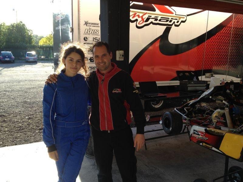 Alexandra Marinescu, teste cu Danilo Rossi la final de an