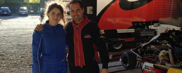 Alexandra Marinescu, teste de final de an cu Danilo Rossi