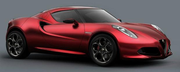 Alfa Romeo 4C Concept isi face aparitia intr-un nou video, plin de emotie