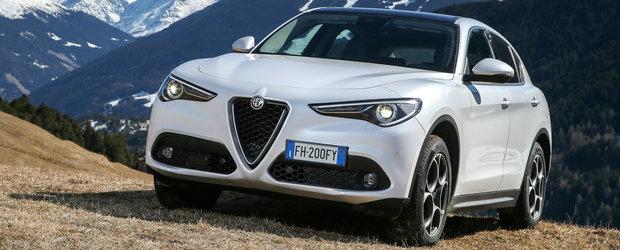 Alfa Romeo a prins drag de SUV-uri. Italienii lucreaza la un model cu 7 locuri, mai mare decat Stelvio