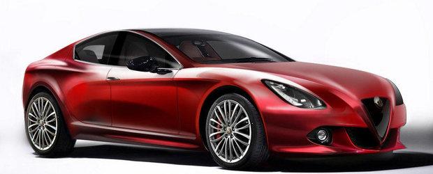 Alfa Romeo dezvolta o noua platforma cu tractiune spate