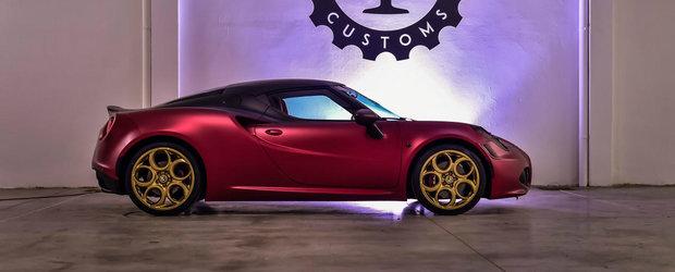 Alfa Romeo expune in cadrul Salonului de la Dubai o frumusete de 4C
