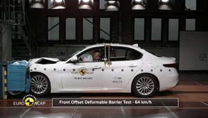 Alfa Romeo Giulia - crash test Euro NCAP