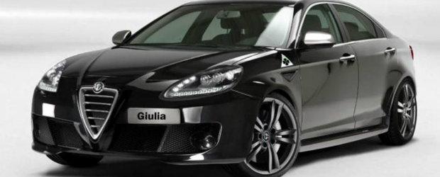 Alfa Romeo Giulia, noul rival pentru BMW Seria 3