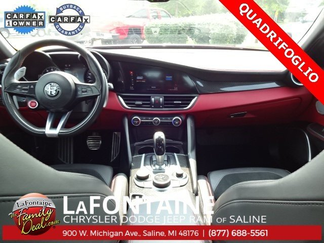 Alfa Romeo Giulia Quadrifoglio de vanzare
