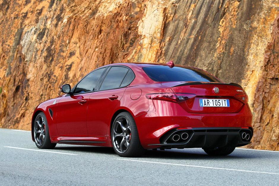 Alfa Romeo Giulia QV - Galerie Foto