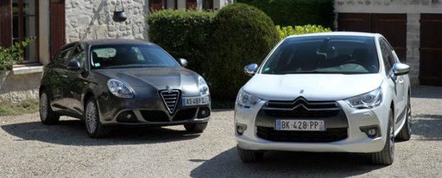 Alfa Romeo Giulietta versus Citroen DS4