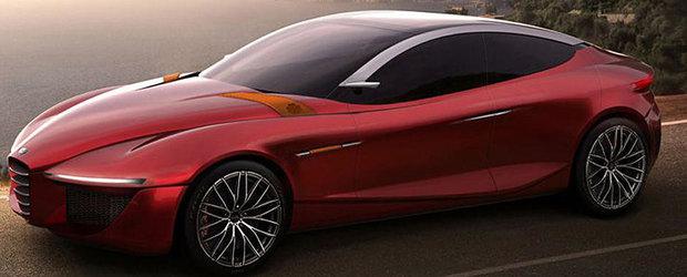 Alfa Romeo Gloria concept, in premiera la Salonul Auto Geneva 2013