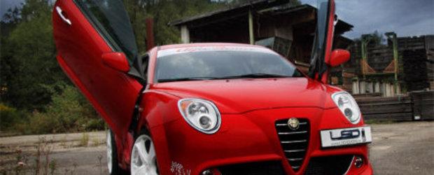 Alfa Romeo MiTo by LSD: Zboara puiule...