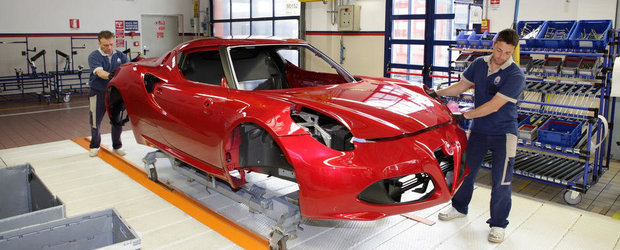 Alfa Romeo ne arata cum ia nastere noul 4C