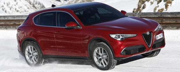 Alfa Romeo tot mai competitiva. Italienii anunta doua motorizari accesibile pentru Stelvio