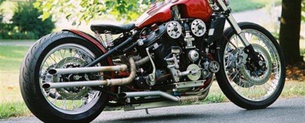 AlfaBeast sau cum arata o motocicleta cu inima de Alfa Romeo