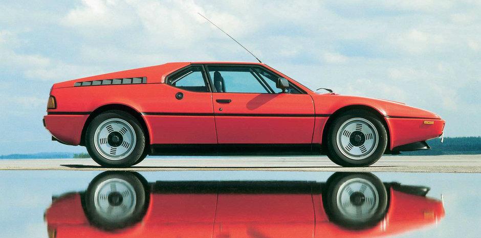 Alfabetul incepe cu litera M: povestea lui BMW M1, primul M din istorie