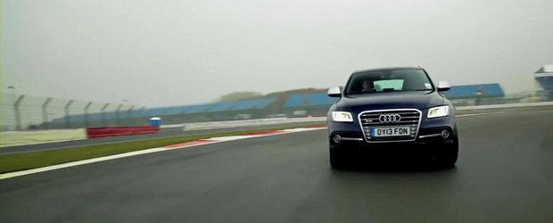 Allan McNish testeaza noul Audi SQ5 TDI