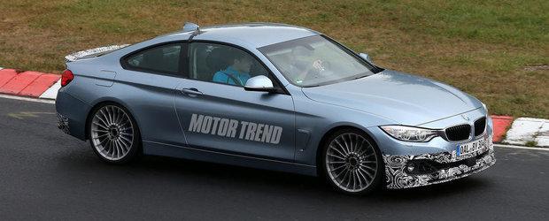 Alpina B4 BiTurbo: Primele imagini cu rivalul viitorului BMW M4 Coupe
