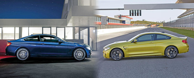 Alpina B4 vs BMW M4: Ce alegi si de ce?