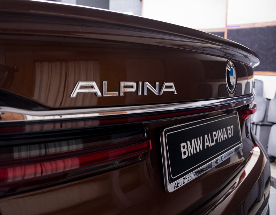 Alpina B7 in Chestnut Bronze Metallic