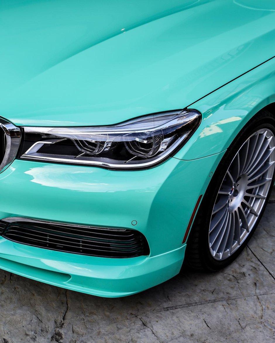 Alpina B7 in Mint Green