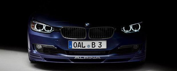 Alpina D3 Bi-Turbo vine la Frankfurt, promite 350 CP si 700 Nm