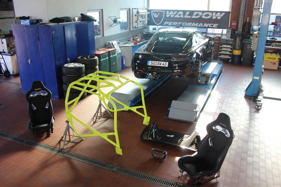 Alpine A110 de la Waldow Performance