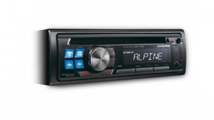 ALPINE CDE-110UB RADIO-CD MP3 Player Auto C USB Montaj In Toata Tara