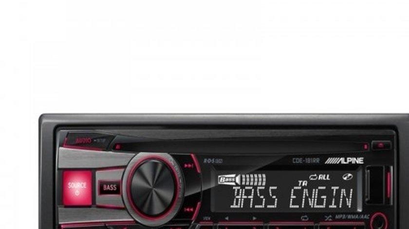 ALPINE CDE-181RR RADIO-CD MP3 Player Auto C USB Montaj In Toata Tara