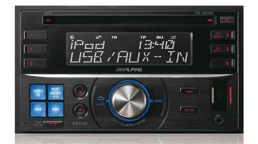 ALPINE CDE-W233R RADIO-CD MP3 Player Auto C USB Montaj In Toata Tara