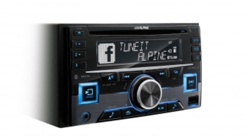 Alpine CDE-W296BT RADIO CD 2DIN CU USB SI BLUETOOTH