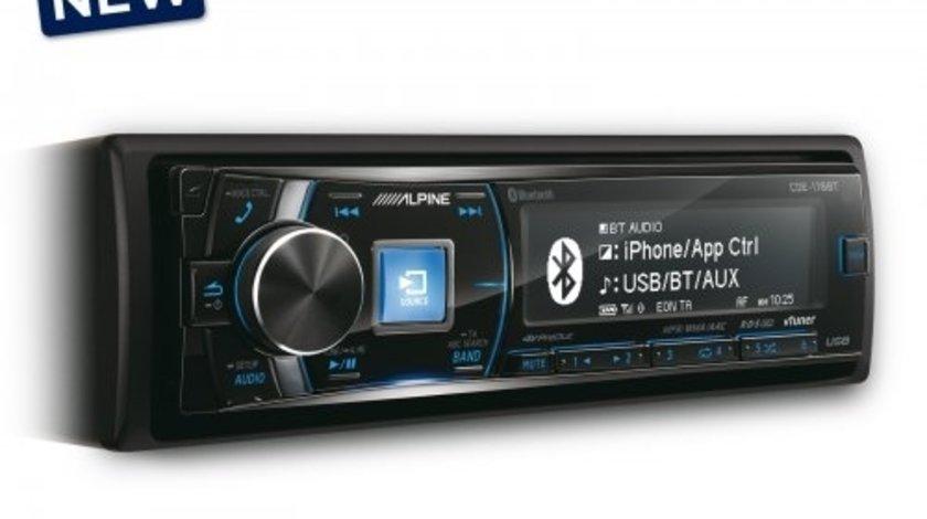 ALPINE IDE-178BT RADIO-CD MP3 Player Auto C USB Montaj In Toata Tara