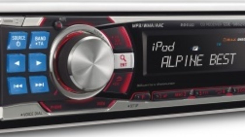 Alpine mp3 player si conectare iPod CDE-9882Ri
