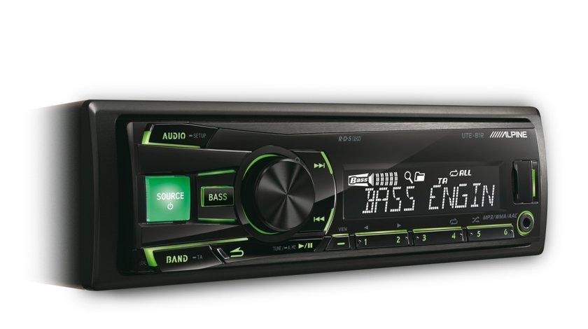 ALPINE UTE-81R RADIO-CD MP3 PLAYER AUTO CU USB MONTAJ CALIFICAT