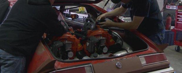 Alternativa la turbo si compresor: masina supraalimentata cu suflatoare de frunze