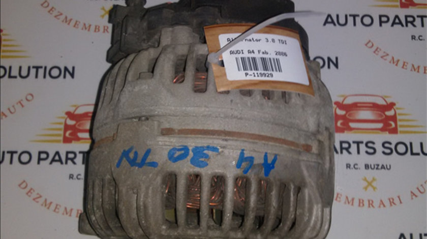 Alternator 3.0 TDI AUDI A4 2004-2008 (B7)