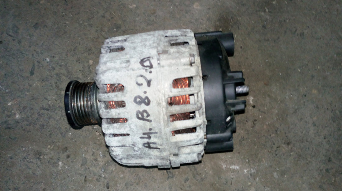 Alternator Audi A4 B8 2.0 tdi CAGA 2009 2010 2011 2012