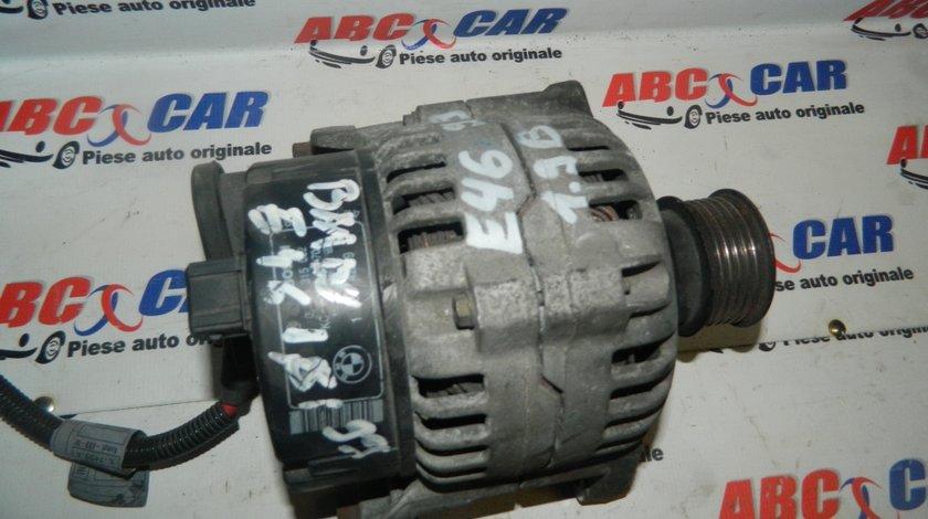 Alternator Bosch Seria 3 E46 1.9 Benzina 14V 40/70A Cod: 0123315022