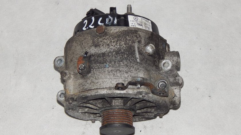 Alternator Mercedes 2002 C-Class E class  W203 W209 W220 W163 2.2 CDI