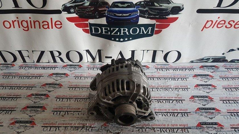 Alternator original Bosch 100A OPEL Zafira 2.0 DTI 101 CP 0124415005