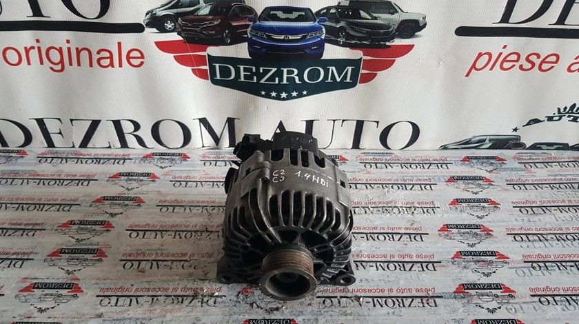 Alternator Valeo original 150A Citroen C2 1.4HDi 68cp 9646476280