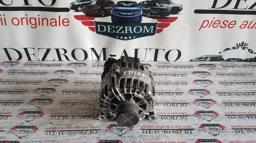 Alternator Valeo original 150A Citroen C3 II 1.6HDi 92/112/114cp 9678048880