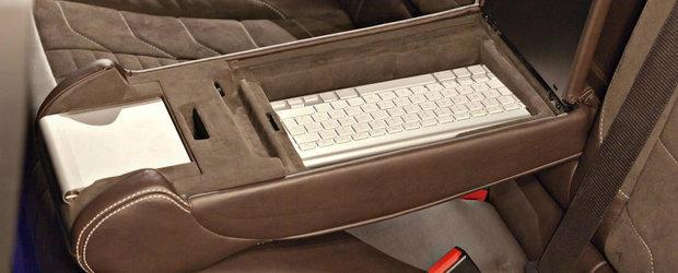 Altul ca el nu mai exista in lume. BMW-ul din 2008 are doua compresoare mecanice si un interior mai tare ca S-ul