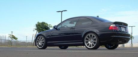 Altul ca el s-ar putea sa nu mai existe. Un BMW M3 E46 nou-nout a fost scos la vanzare