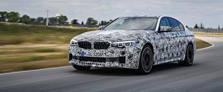 Am aflat cand se lanseaza noul BMW M5. Sedan-ul vine cu 600 de cai dintr-un V8 biturbo