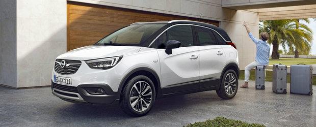 Am aflat preturile si motorizarile noului Opel Crossland X