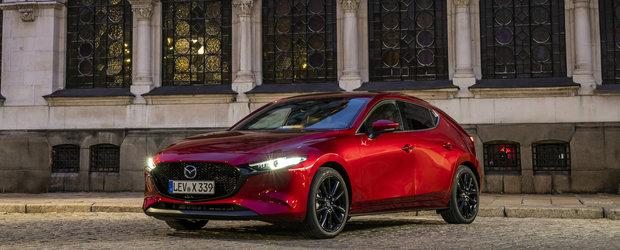Am condus in EXCLUSIVITATE noua Mazda3 echipata cu motorul minune SKYACTIV-X