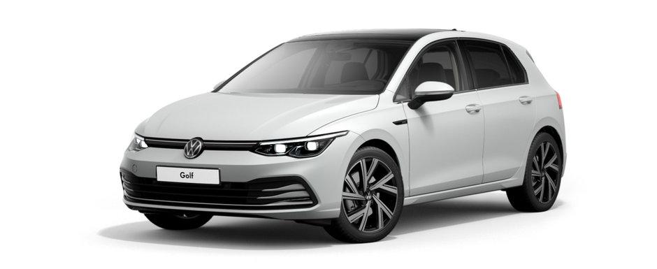 Am configurat cel mai scump VW Golf 8 din Romania. Cum arata si cat costa acesta