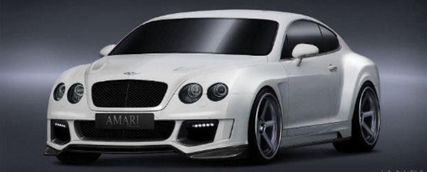 Amari Design ne incanta cu un Bentley de peste 750 cai putere