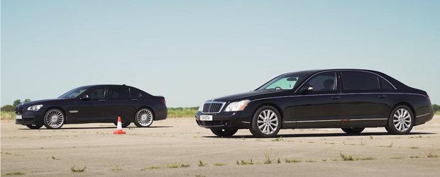 Ambele au un V12 sub capota si mult lux in interior. Cum se tin cele doua limuzine in 2020